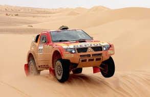Rally-Raid 2007 Suspension Corner